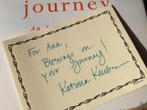 signed book plate by Katrina Kenison