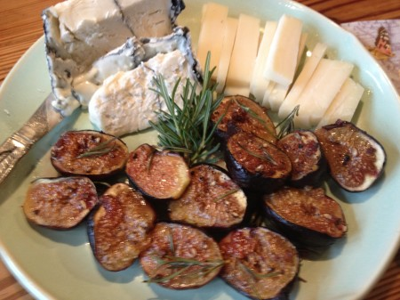 Figs & cheese
